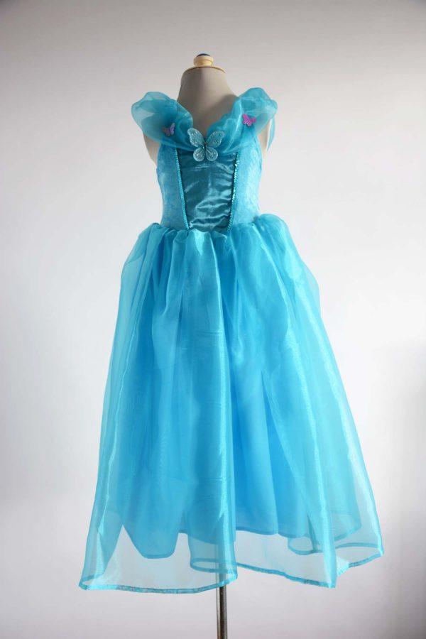 princess dress blue