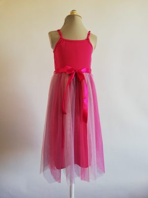 Rainbow Fairy Dress Fuchsia
