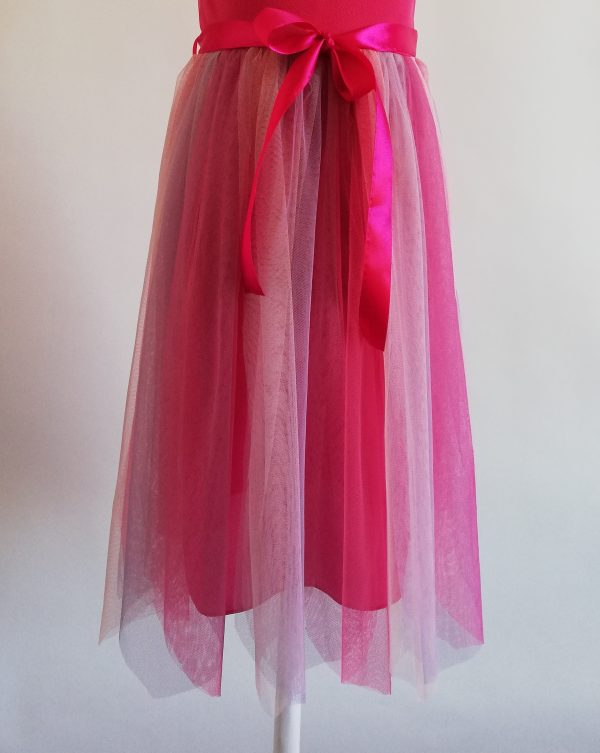 Rainbow Fairy Dress Fuchsia c/u