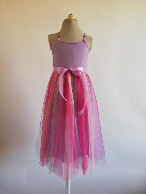 Rainbow Fairy Dress Lilac